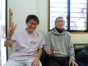脊柱菅狭窄症で来院された患者さん